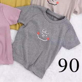 SNOOPY - 《新品》 チャーリーブラウン Tシャツ グレー 90cm
