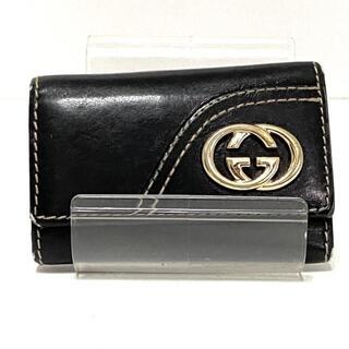 グッチ(Gucci)のグッチ キーケース ダブルG 181599 黒(キーケース)