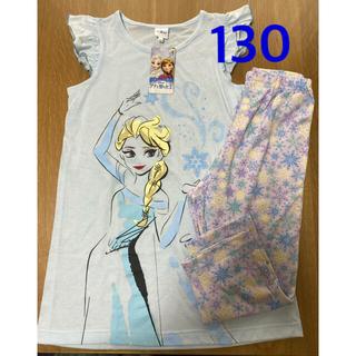 Disney - 子供用パジャマ 130 アナと雪の女王 ブルー タグ付き
