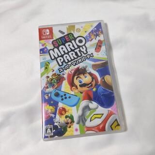 ニンテンドースイッチ(Nintendo Switch)のスーパー マリオパーティ Switch 新品未開封(家庭用ゲームソフト)