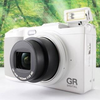 リコー(RICOH)のRICOH デジタルカメラ GR DIGITAL IV ホワイトエディション(コンパクトデジタルカメラ)
