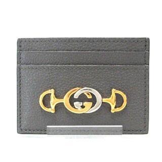 グッチ(Gucci)のグッチ カードケース美品  ズゥミ 570679(名刺入れ/定期入れ)