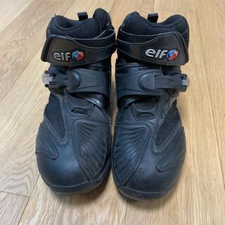 elf - エルフELFバイクシューズ Synthese 14 ブラック  25㎝