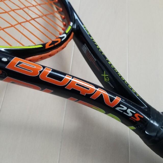 wilson(ウィルソン)のジュニア テニスラケット ウィルソン BURN25S 錦織圭モデル スポーツ/アウトドアのテニス(ラケット)の商品写真