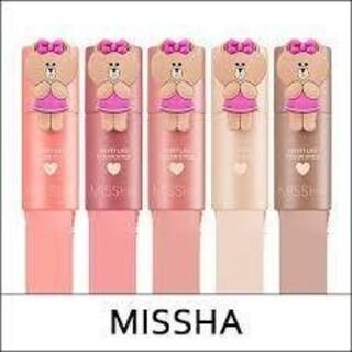 ミシャ(MISSHA)の韓国 ミシャ MISSHA ベルベットライクカラースティック フラワーブーケ(チーク)