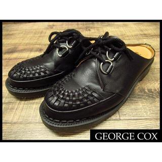 ジョージコックス(GEORGE COX)の希少 ジョージコックス 15229 ギブソン ミュール サンダル UK8.5(ブーツ)