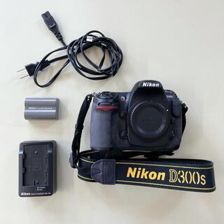 ニコン(Nikon)のNikon D300s ボディ バッテリー付き 一眼レフカメラ(デジタル一眼)
