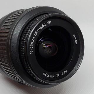 ニコン(Nikon)のNIKON レンズ AF-S NIKKOR 18-55mm 1:3.5-5.6G(デジタル一眼)