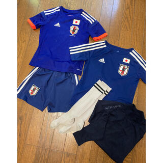 adidas - 130 日本代表 サッカーユニフォーム セット