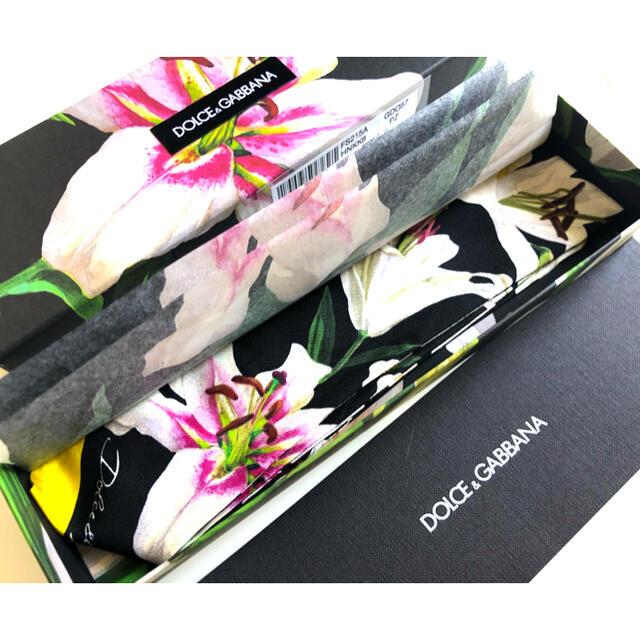 DOLCE&GABBANA(ドルチェアンドガッバーナ)の新品未使用DOLCE&GABBANA スカーフ レディースのファッション小物(バンダナ/スカーフ)の商品写真