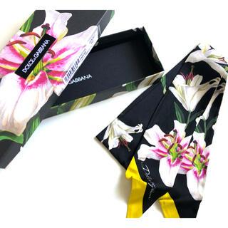 ドルチェアンドガッバーナ(DOLCE&GABBANA)の新品未使用DOLCE&GABBANA スカーフ(バンダナ/スカーフ)