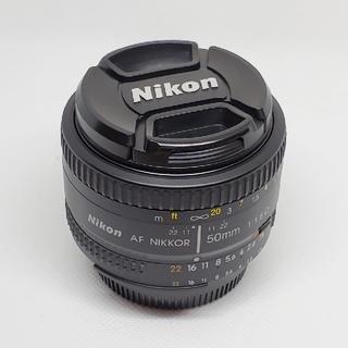 ニコン(Nikon)のNIKON レンズ AF Nikkor 50mm f/1.8D(デジタル一眼)
