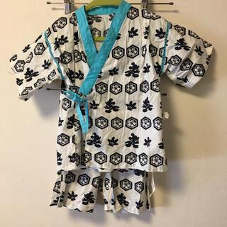 ディズニー(Disney)の甚平 男の子 レモール ディズニー ミッキー 110 (甚平/浴衣)