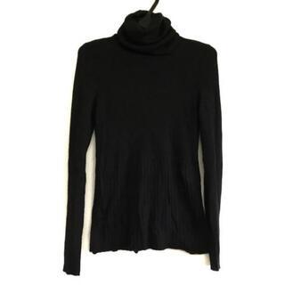 シャネル(CHANEL)のシャネル 長袖セーター サイズ38 M 黒(ニット/セーター)