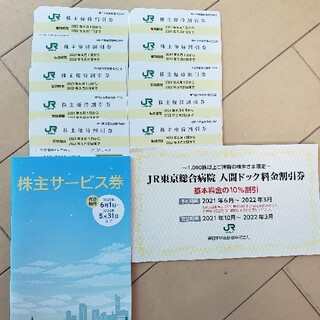 JR東日本 株主優待券10枚セット+株主サービス券