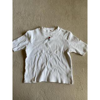 ダブルシー(wc)のW♡C ダブルシー  Tシャツ 白色(Tシャツ(半袖/袖なし))