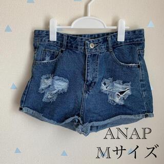 アナップ(ANAP)のANAP デニムショートパンツ Mサイズ(ショートパンツ)