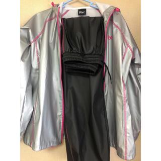 【送料込】サウナスーツ 上下セット Mサイズ(エクササイズ用品)
