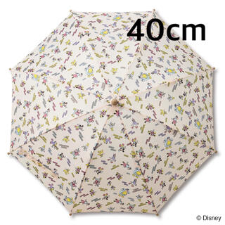 ディズニー(Disney)の新品 ディズニー バースデイ フタフタ レトミ レトロミッキー 傘 40cm(傘)