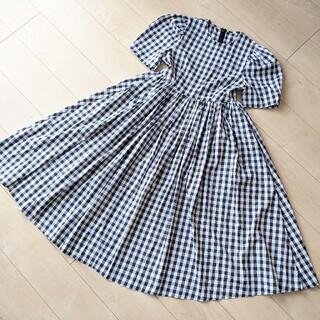 TSURU by Mariko Oikawa - バースデーバッシュ一度のみ着用完売チェックワンピースS