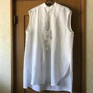 TOMORROWLAND - MACPHEE ニドムクロス ノースリーブシャツ 2021ss