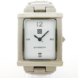 ジバンシィ(GIVENCHY)のジバンシー 腕時計 - TK.18.XVIII 白(腕時計)