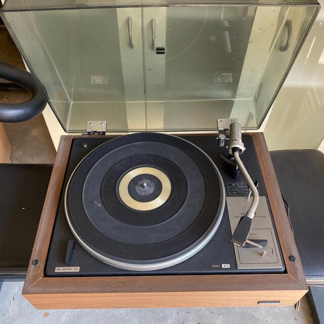 三菱(ミツビシ)の三菱レコードプレーヤー スマホ/家電/カメラのオーディオ機器(その他)の商品写真