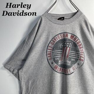 ハーレーダビッドソン(Harley Davidson)の【古着】 USA製 ハーレーダビッドソン プリント Tシャツ XL 2166(Tシャツ/カットソー(半袖/袖なし))
