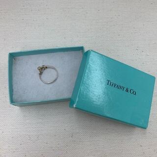 ティファニー(Tiffany & Co.)の★ティファニー フックアンドアイ リング SV925 K18 11号 箱付(リング(指輪))