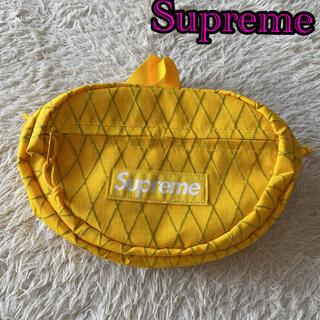 シュプリーム(Supreme)のSupreme❤2018fw Waist Bag Yellow(ウエストポーチ)