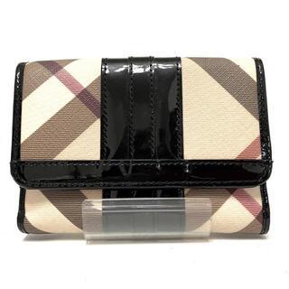 バーバリー(BURBERRY)のバーバリー 2つ折り財布 - チェック柄(財布)