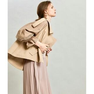 ラベルエチュード(la belle Etude)のla belle etudeボリューム袖ショートトレンチコート(トレンチコート)