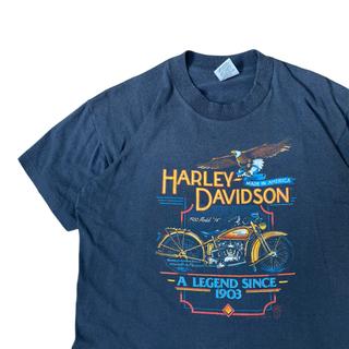 ハーレーダビッドソン(Harley Davidson)の【古着】80s USA製 ハーレーダビッドソン Tシャツ M 2164(Tシャツ/カットソー(半袖/袖なし))