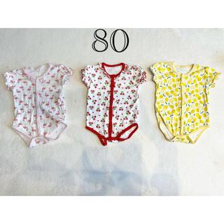 ニシキベビー(Nishiki Baby)の【チャックルベビー】ロンパース 80 まとめ売り(ロンパース)
