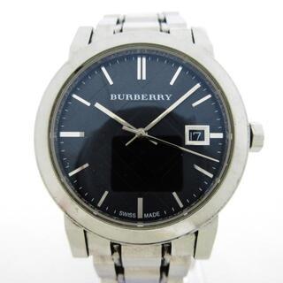 バーバリー(BURBERRY)のバーバリー 腕時計 - BU9101 ボーイズ 黒(腕時計)