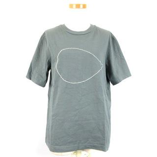 ミナペルホネン(mina perhonen)のミナペルホネン mina perhonen 刺繍 半袖 Tシャツ M(Tシャツ(半袖/袖なし))