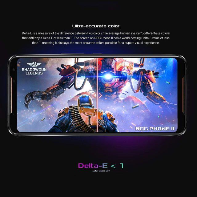 ASUS(エイスース)の新品未開封★おまけ付き ゲーミングスマホ ASUS ROG Phone 2 スマホ/家電/カメラのスマートフォン/携帯電話(スマートフォン本体)の商品写真