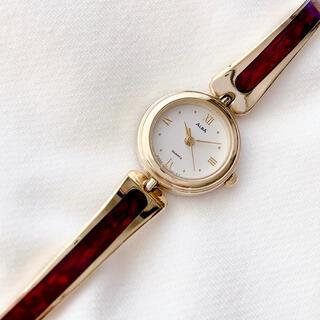 アルバ(ALBA)のALBA レディースバングルウォッチ 稼動品(腕時計)