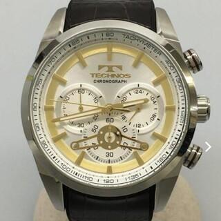 TECHNOS - 超美品 TECHNOS  テクノス クロノグラフ 腕時計
