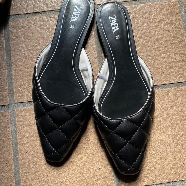 ZARA(ザラ)のZARAスリッポン レディースの靴/シューズ(スリッポン/モカシン)の商品写真