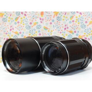 ペンタックス(PENTAX)のSuper Takumar 135mm F3.5 200mm F4 2本セット(レンズ(単焦点))
