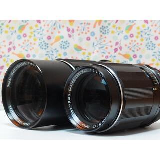 ペンタックス(PENTAX)のSMC Takumar 135mm F3.5 と 200mm F4 2本セット(レンズ(単焦点))