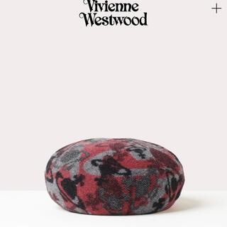 ヴィヴィアンウエストウッド(Vivienne Westwood)のvivienne westwood ベレー帽 赤(ハンチング/ベレー帽)