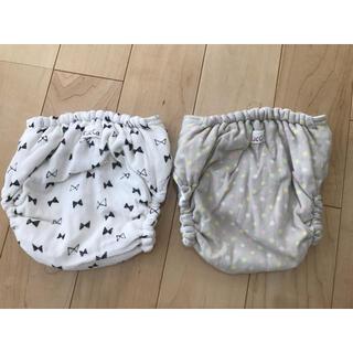 kukka♡布おむつ♡布おむつカバーMサイズ2枚セット(布おむつ)