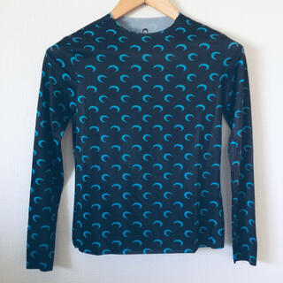 マルタンマルジェラ(Maison Martin Margiela)のマリーンセル marine serre タン トップス(Tシャツ(長袖/七分))