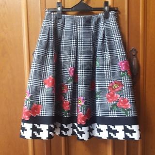 M'S GRACY - 2018年 エムズグレイシー お花柄スカート