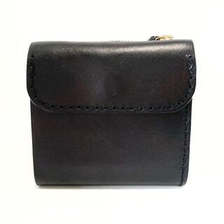 ヘルツ(HERZ)のHERZ(ヘルツ) 3つ折り財布 - 黒 レザー(財布)