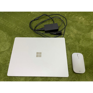 マイクロソフト(Microsoft)のOffice付き!surface laptop 256GB シルバー(ノートPC)