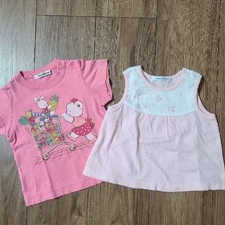 familiar - 【セット売り*familiar】Tシャツ ノースリーブトップス