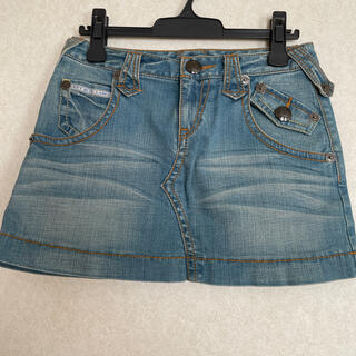 バーバリーブルーレーベル(BURBERRY BLUE LABEL)のバーバリーブルーレーベル ホースマーク ロゴ ミニスカート 25(ミニスカート)